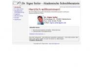 Bild Webseite Dr. Signe Seiler Heidesheim am Rhein