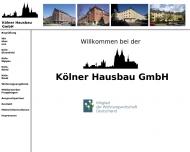 Bild Kölner Hausbau Gesellschaft mit beschränkter Haftung