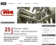 Bild MIG Isoliermontage GmbH