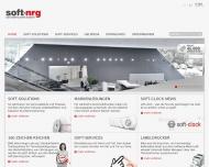 Bild Webseite soft nrg Development München