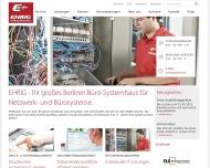 Bild Webseite EHRIG Berlin