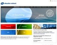 Bild Webseite Allocation Network München