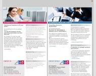 Bild Webseite AS COMPUTERTRAINING München