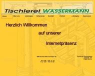 Website Wassermann Matthias Tischlerei