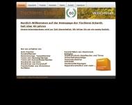 Website Eckardt Ekkehart Tischlermeister