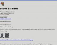 Bild Webseite Starke , Thieme Dipl.-Designer Innenarchitekt Dresden