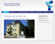 Bild Webseite Inkassounternehmen Claudia Wagener-Neef Frankenberg (Eder)
