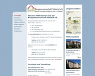 Website Baugenossenschaft Maintal