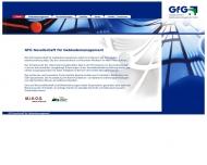 Website GfG Ges. für Gebäude- Management