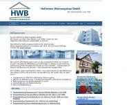 Website Hofheimer Wohnungsbau
