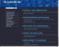 Bild Webseite Schicht Martin Cottbus