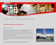 Website Rodak Bauunternehmen