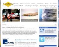 Bild Webseite Commendo Agentur für Unternehmenskommunikation München