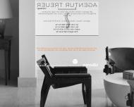Bild Webseite Treuer Stefan Agentur für intern. Designmöbel München