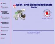 Bild Webseite SOS Alarmzentrale Berlin