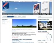 Website W.I.S. Sicherheit + Service
