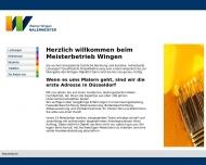 Bild Wingen Werner Malermeister