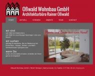 O?wald Wohnbau GmbH - Achitekturb?ro Rainer O?wald