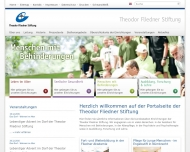 Website Theodor Fliedner Stiftung