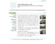 Bild Webseite Beamtenwohnungsverein München e.G. München