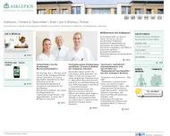 Bild Webseite Asklepios Nordseeklinik Sylt-Ost