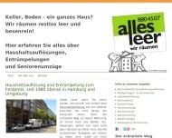 Bild Allesleer - Müller Cornelius Haushaltsauflösungen