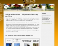 Bild Webseite Schlarb Wohnbau Kolbermoor