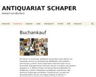 Bild Antiquariat Dietrich und Brigitte Schaper oHG
