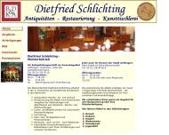 Bild Webseite Schlichting Dietfried Antiquitäten Göttingen
