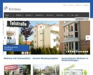 Bild Webseite Kreisbaugesellschaft Heidenheim Gesellschaft Giengen an der Brenz