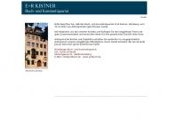 E+R Kistner Buch- und Kunstantiquariat N?rnberg