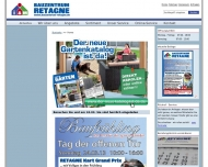 Website I + M Bauzentrum Retagne