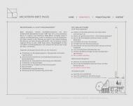 Website Architekturbüro Birte Pagel