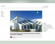 Bild Webseite Architekten KLMT Düsseldorf