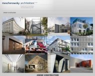 Website mescherowsky architekten