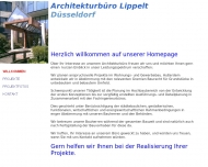 Bild Webseite Lippelt Architekturbüro Düsseldorf