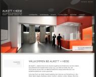 Bild Webseite Aukett + Heese Berlin
