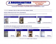 Website Baumgartner Johann Dipl.-Ing. Architekt