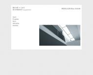Bild Webseite MODULOR Bau Frankfurt