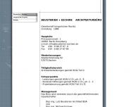 Bild Webseite Beusterien & Eschwe Architekturbüro Berlin