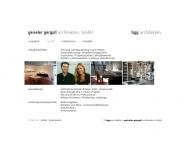 Website geiseler gergull architekten.