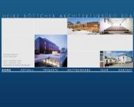 Website Böttcher Heike Architekturbüro BDA