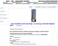 Bild Webseite Domke & Schuhmacher Karlsruhe