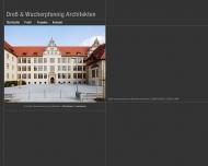 Bild Webseite Dreß u. Wucherpfennig Architekten Berlin