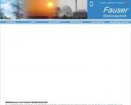 Bild Webseite Fauser Kurt München