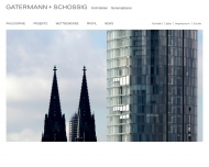 Bild Webseite GATERMANN + SCHOSSIG Bauplanungsgesellschaft Köln