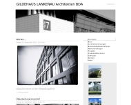Website Gildehaus Lankenau Architekten