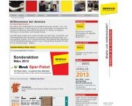 Bild Webseite Ammon Beschläge-Handels Nürnberg