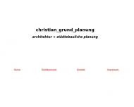 Bild Webseite Grund Christian Dipl.Ing. Architekt München