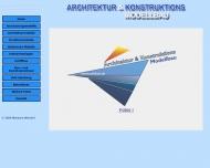 Bild Webseite Grützmacher Hans-Eberhard Architektur- & Konstruktionsmodellbau Lübeck